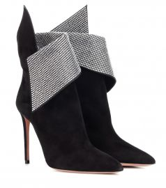 Night Fever 105 suede ankle boots at Mytheresa