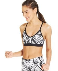 Nike Pro Indy Freeze Frame Dri-FIT Sports Bra at Macys