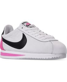Nike Women s Classic Cortez Premium Casual Sneakers from Finish Line   Reviews - Finish Line Athletic Sneakers - Shoes - Macy s at Macys