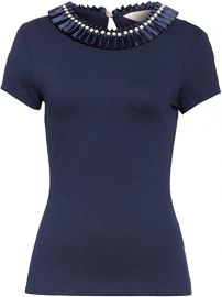 Nikita Embellished Neck Top by Ted Baker at Amazon
