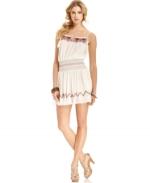 Nikkis white dress at Macys at Macys