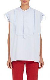 Nili Lotan Elise Fringed Cotton Oxford Cloth Blouse at Barneys