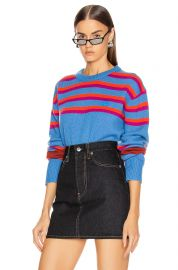 Nimah Stripe Sweater by Acne Studios at Forward