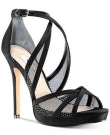 Nina Fenna Platform Evening Sandals   Reviews - Sandals   Flip Flops - Shoes - Macy s at Macys