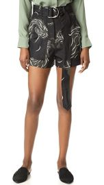 Nina Ricci Bird Print Shorts at Shopbop