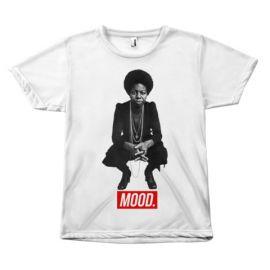Nina Simone Mood T-shirt at Melanin Apparel