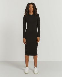 Ninety Percent Dress Bodycon stretch-jersey dress at Ninety Percent