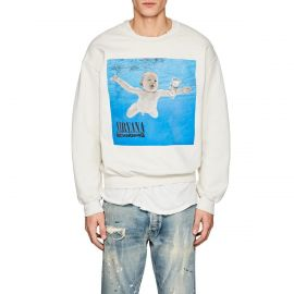 Nirvana Nevermind Distressed Sweatshirt by Madeworn at Shopbop