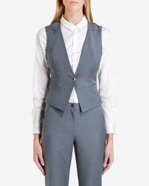Nisaw Polished Suit Vest at Ted Baker