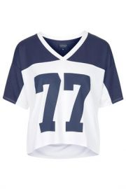 No 77 Motif Tee at Topshop