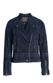 No Limit Suede Moto Jacket by Blank NYC at Nordstrom