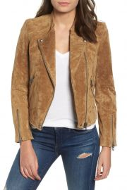 No Limit Suede Moto Jacket by BlankNYC Denim at Nordstrom Rack