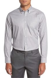 Nordstrom Men s Shop Trim Fit Non-Iron Gingham Dress Shirt at Nordstrom