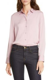Nordstrom Signature Stretch Silk Button-Up Shirt   Nordstrom at Nordstrom