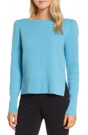 Nordstrom Signature Waffle Stitch Cashmere Sweater at Nordstrom