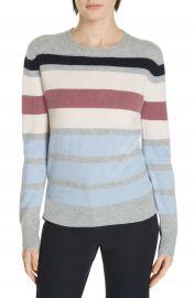 Nordstrom Signature Stripe Boiled Cashmere Sweater   Nordstrom at Nordstrom