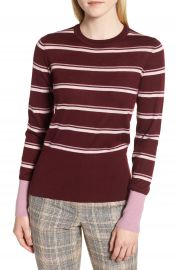 Nordstrom Signature Stripe Cashmere Sweater   Nordstrom at Nordstrom