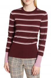 Nordstrom Signature Stripe Cashmere Sweater   Nordstrom at Nordstrom