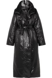 Norma Kamali - Sleeping Bag oversized shell coat at Net A Porter