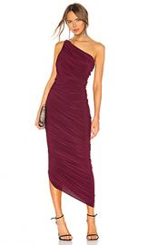 Norma Kamali Diana Gown in Plum from Revolve com at Revolve
