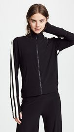 Norma Kamali Side Stripe Turtle Track Jacket at Shopbop
