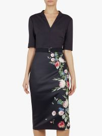 Norraa Floral Bodycon Dress at John Lewis