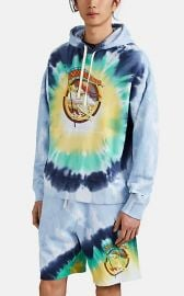 Not Fade Away Tie-Dyed Oversized Hoodie at Barneys