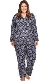 Notch Collar Print Pajama Set by Ralph Lauren at Nordstrom