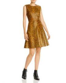 Notes du Nord Mercy Snake-Embossed Leather Dress Women - Bloomingdale s at Bloomingdales