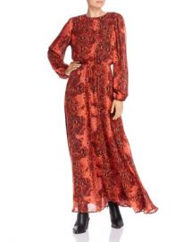 Notes du Nord Monique Snakeskin Print Maxi Dress Women - Bloomingdale s at Bloomingdales