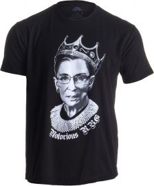 Notorious RBG Tee by Ann Arbor at Amazon