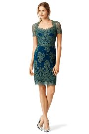 Notte by Marchesa Lace Dress at Rent the Runway