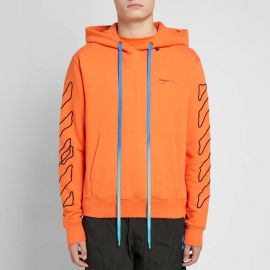 OFF-WHITE ABSTRACT ARROWS SLIM HOODY at End Clothing