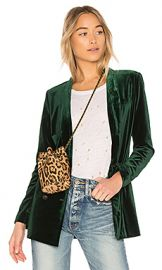 ON PARLE DE VOUS Dominante Jacket in Green from Revolve com at Revolve