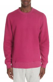 OVADIA  amp  SONS Distressed Crewneck Sweatshirt   Nordstrom at Nordstrom
