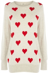 Oasis Heart Sweater at Oasis