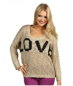 Oatmeal love sweater by Brigitte Bailey at 6pm