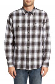 Obey Kemper Plaid Woven Shirt at Nordstrom
