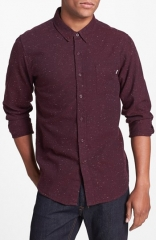 Obey Last Call Cotton Flannel Shirt at Nordstrom