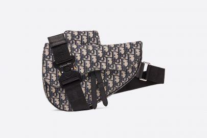 Oblique Saddle Bag by Dior at Farfetch