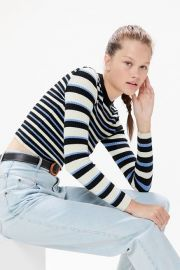 Odd Striped Sweater by Urban Outfitters at Urban Outfitters
