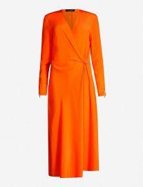 Odette silk midi dress at Selfridges