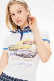 Off Road Racing Ringer Tee by Urban Outfitters at Urban Outfitters