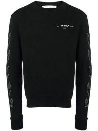 Off-White 3D Print Sweatshirt - Farfetch at Farfetch