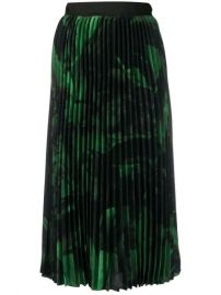 Off-White Brushstroke Pliss   Skirt - Farfetch at Farfetch