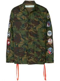 Off-White Camouflage Arrows Jacket at Farfetch