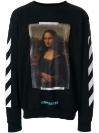 Off-White Mona Lisa Print Sweatshirt - Farfetch at Farfetch