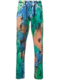 Off-White Paint Splattered Jeans - Farfetch at Farfetch
