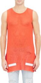 Off-White co Virgil Abloh Mesh Tank at Barneys