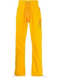 Off-White logo track trousers logo track trousers at Farfetch